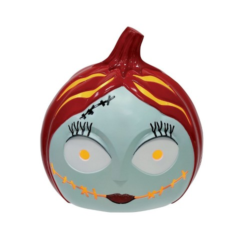 The Nightmare Before Christmas 6 Halloween Light Up Pumpkin Sally