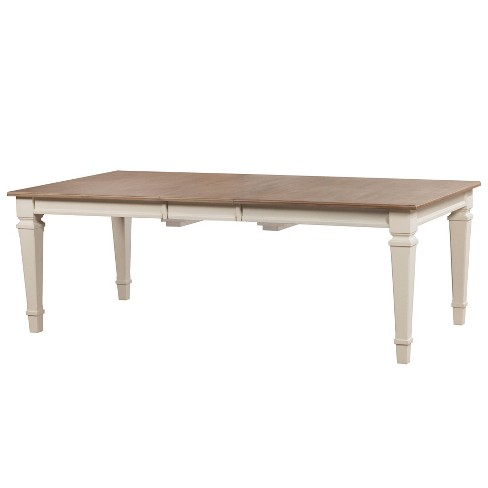 Rockport Rectangleextendable Dining Table White Hillsdale Furniture Target