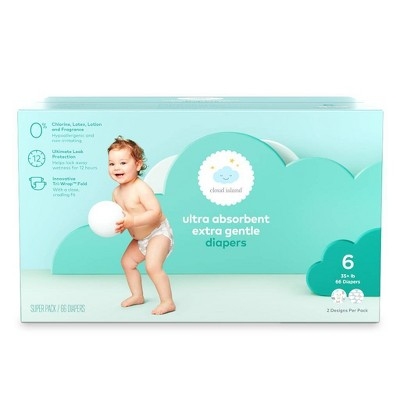 Ultra Absorbent Diapers - Cloud Island™ - (Select Size and Count)