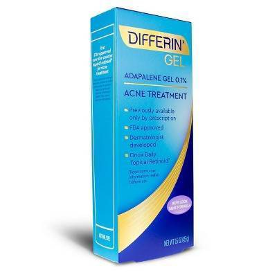 Differin Adapalene Gel 0 1 Acne Treatment 45g Target