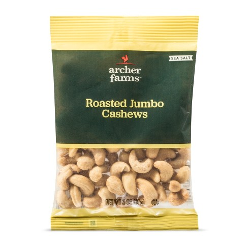 Sea Salt Roasted Jumbo Cashews 3oz - Archer Farms™ - image 1 of 1