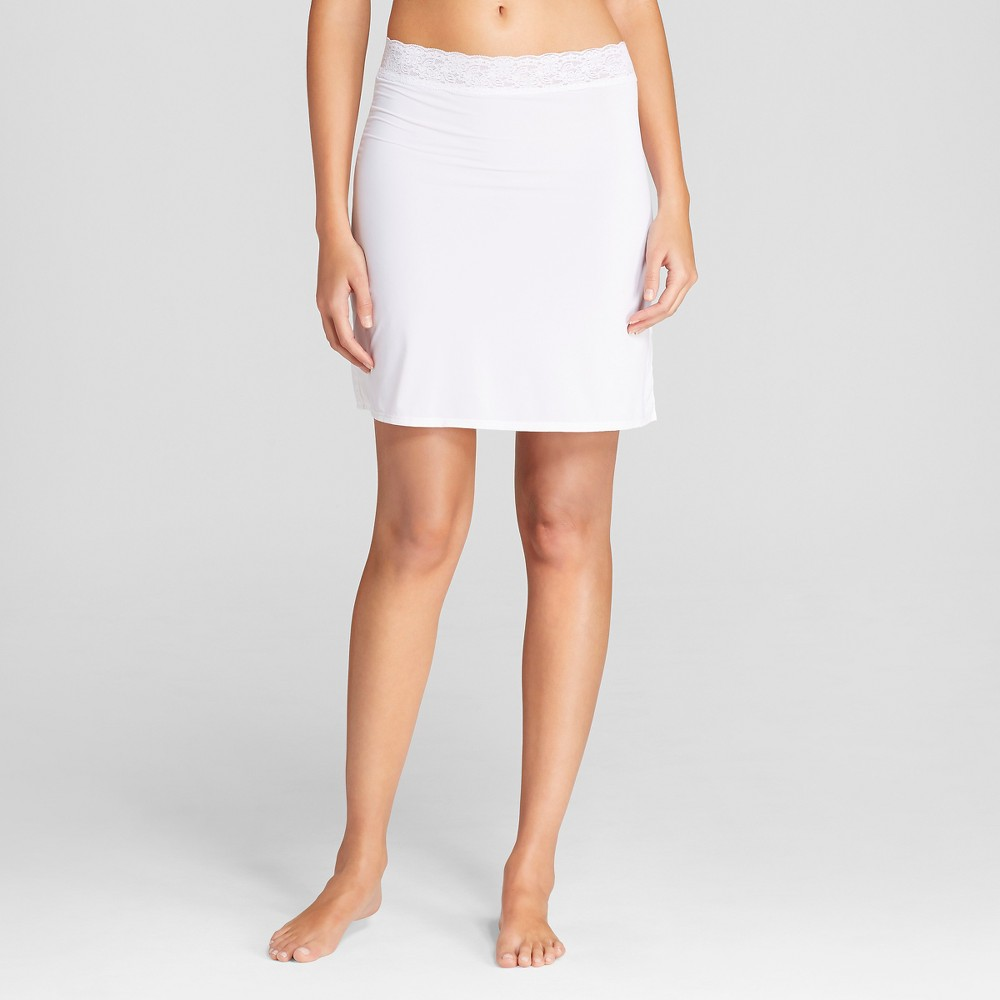 Jky by Jockey Women's Half Slips - White M