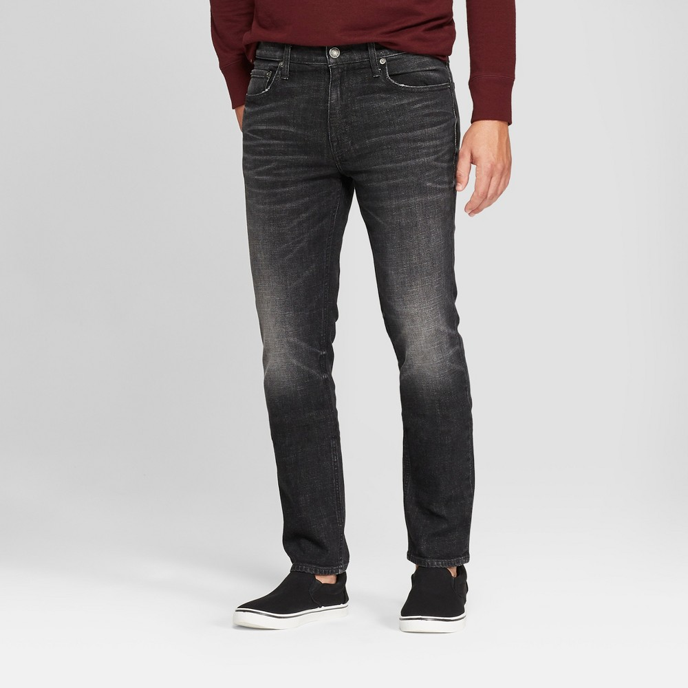 Men's Slim Fit Jeans - Goodfellow & Co Black 34x32