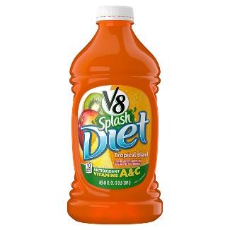 Diet V8 Splash Tropical Blend Juice - 64 fl oz Bottle