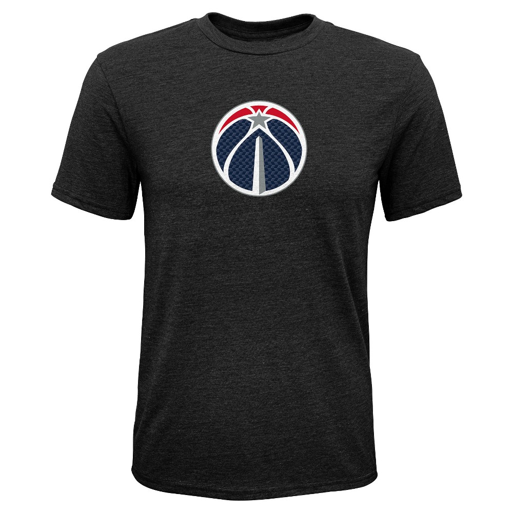 Washington Wizards Boys' Buzzer Beater Gray Performance T-Shirt L, Multicolored
