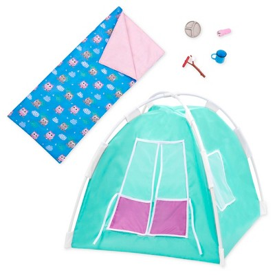 "Our Generation Camping Accessory Set for 18"" Dolls - Happy Camper"
