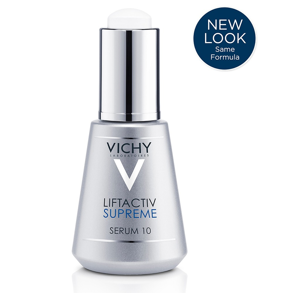 Image of Vichy LiftActiv Anti Aging Face Serum 10 Supreme with Hyaluronic Acid - 1.01oz