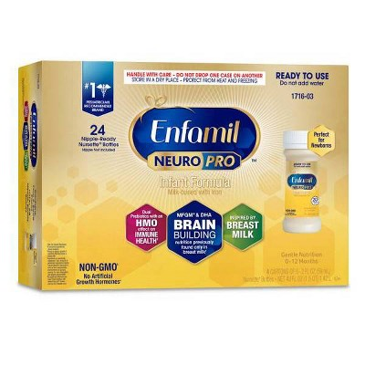 Enfamil NeuroPro Infant Formula Ready to Use Bottles - 24ct/2 fl oz Each