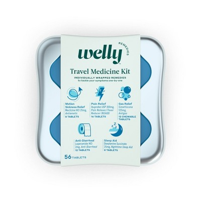 Welly Travel Medicine Kit - 42ct