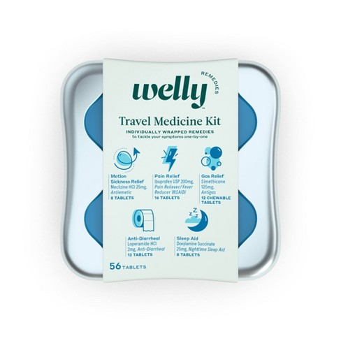 Welly Travel Medicine Kit - 42ct - image 1 of 4