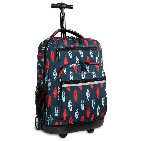 """J World 20"""" Sundance Laptop Rolling Backpack - Indi - image 1 of 4"""