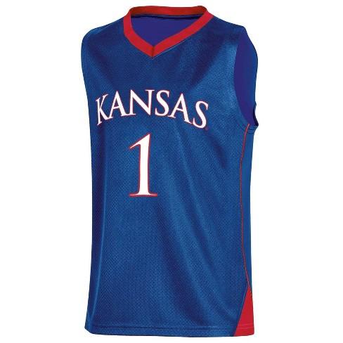 NCAA Kansas Jayhawks Boys' Basketball Jersey - XS