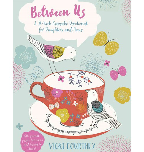 Between Us : A 52-Week Keepsake Devotional for Moms and Daughters (Hardcover) (Vicki Courtney) - image 1 of 1
