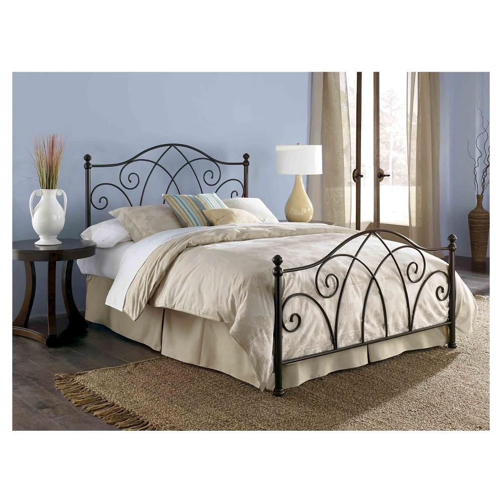 Deland Bed Brown Sparkle (King) - Fashion Bed Group