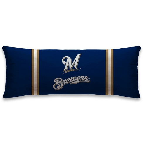 """MLB Milwaukee Brewers 20""""x48"""" Body Pillow - image 1 of 1"""