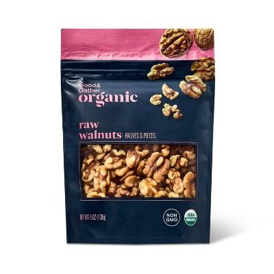 Organic Raw Walnuts - 6oz - Good & Gather™
