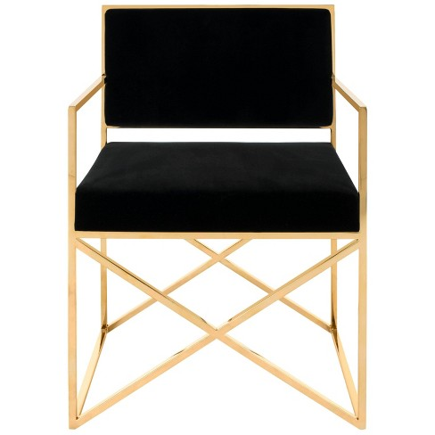 Accent Chairs Black - Safavieh - image 1 of 4