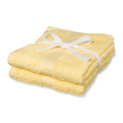 2pk Hand Towel Lemon Ice - Room Essentials™