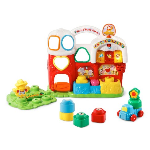 VTech Sort and Build Farm - image 1 of 6