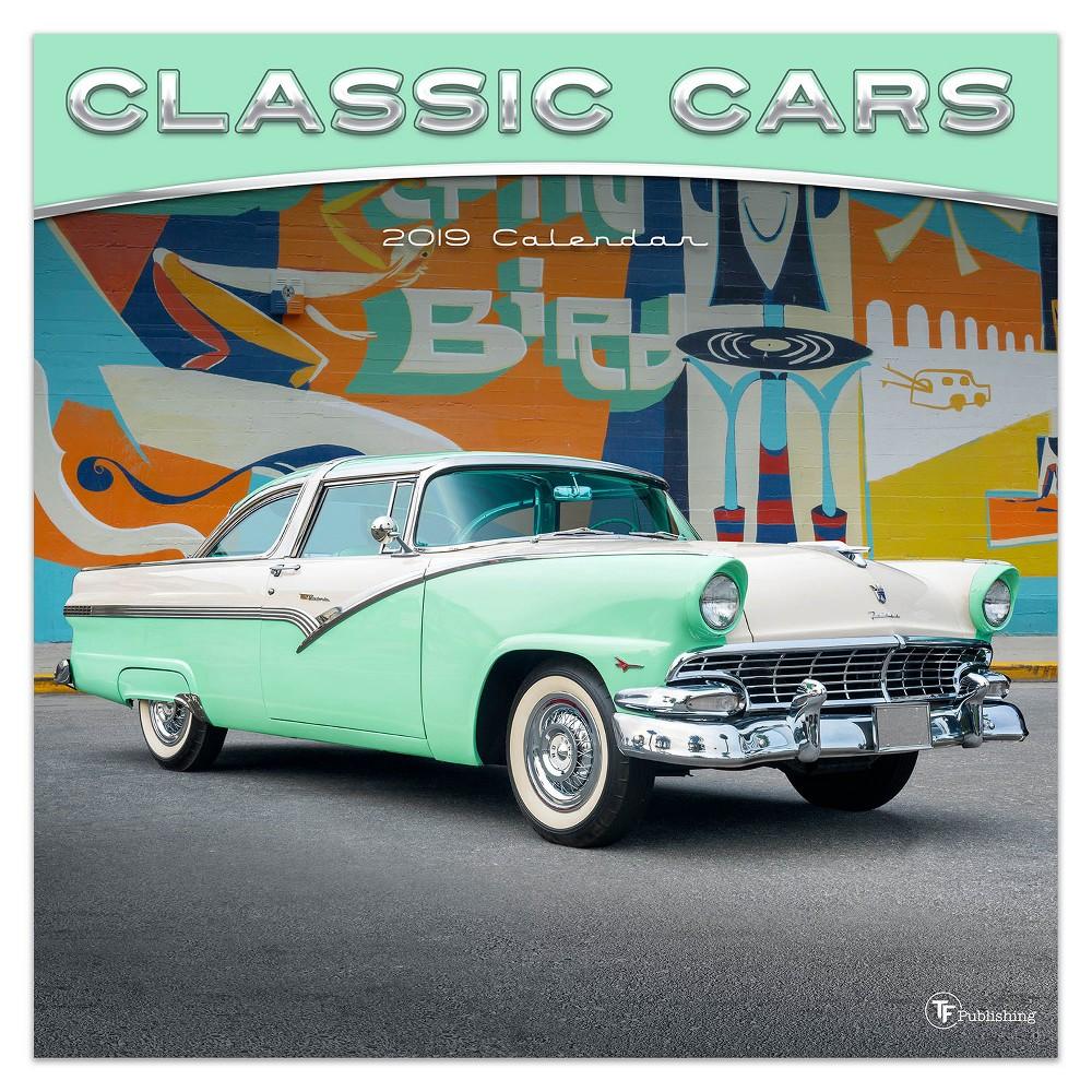 2019 Wall Calendar Classic Cars - TF Publishing, 2019 Tf Publishing Classic Cars Wall Calendar