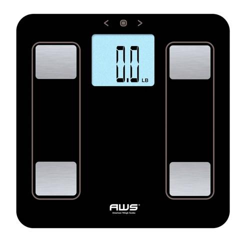 Genius Digital Bathroom Scale Black - American Weigh Scales - image 1 of 3