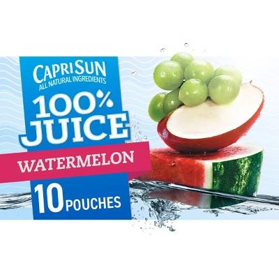 Capri Sun Watermelon - 10pk/6 fl oz Pouches