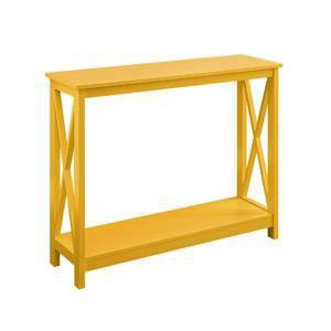 Oxford Console Table Yellow - Breighton Home