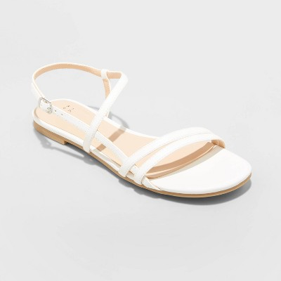 Women's Kaia Strappy Sandals - A New Day™