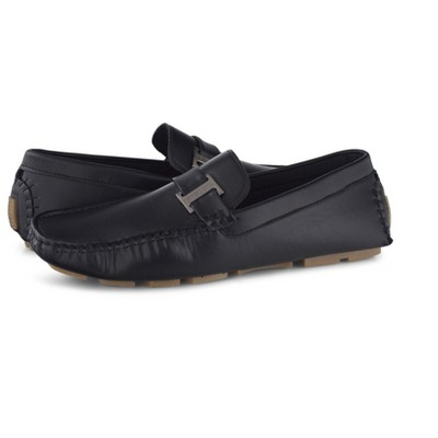 Members Only Men's Faux Leather Driving Shoes
