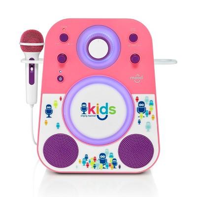 Singing Machine Kids Mood Karaoke – Pink (SMK250PPT)