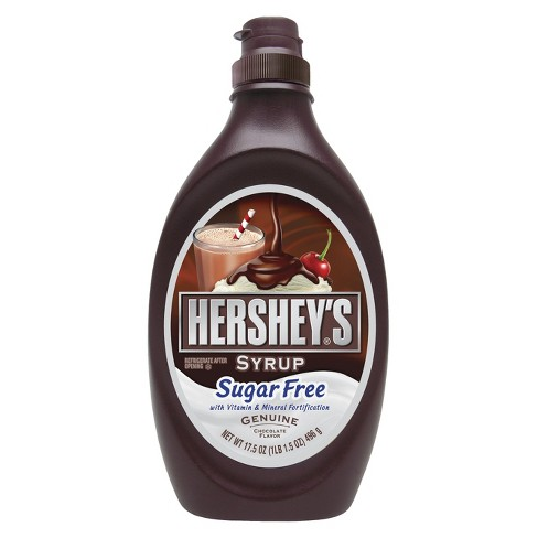 Hershey's Sugar Free Chocolate Syrup - 17oz - image 1 of 2