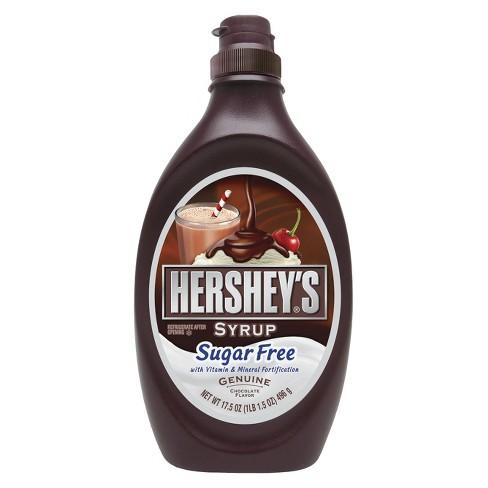 hershey s sugar free chocolate syrup 17oz target