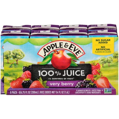 Juice Boxes: Apple & Eve