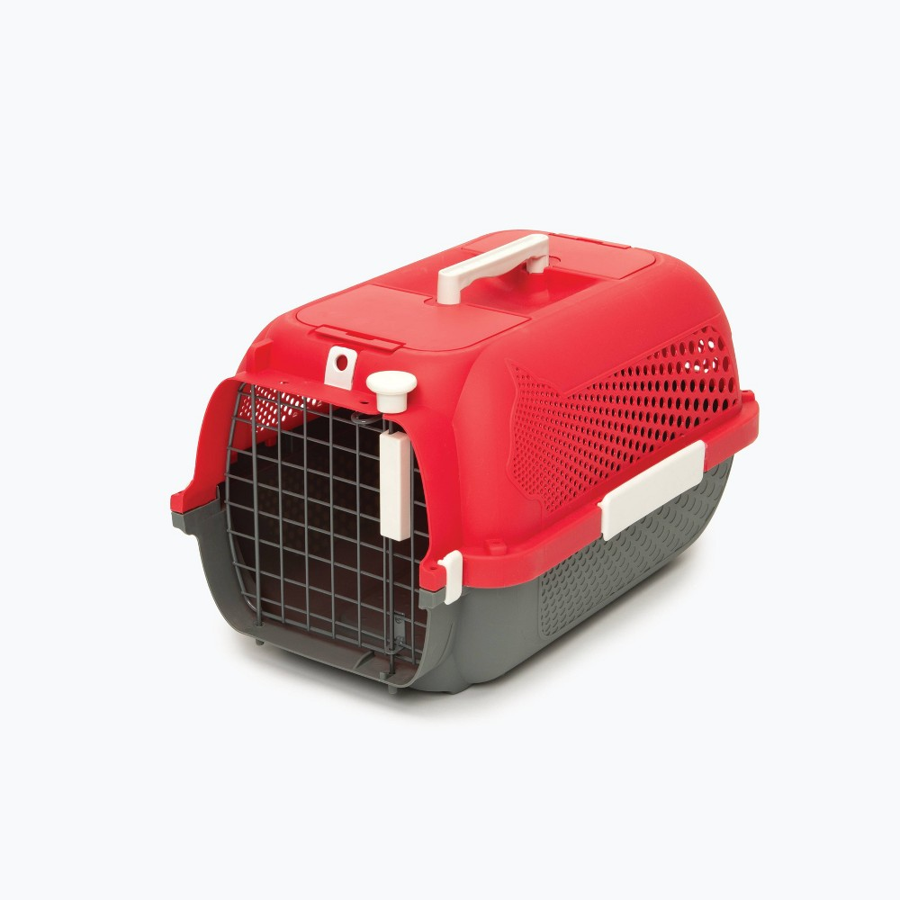 Catit Profile Voyageur Dog And Cat Carrier S Cherry Red
