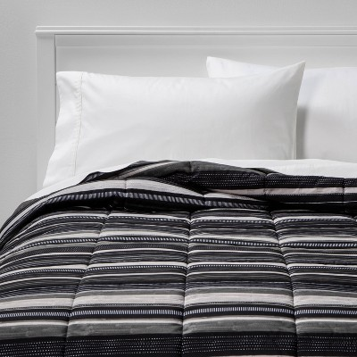 Microfiber Stripe Reversible Comforter - Room Essentials™