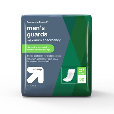Men's Guards for Adult Incontinence Care - Maximum Absorbency - 52ct - up & up™