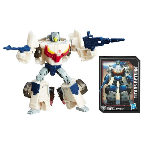 Transformers Generations Titans Return Autobot Breakaway and Autobot Throttle - image 1 of 10