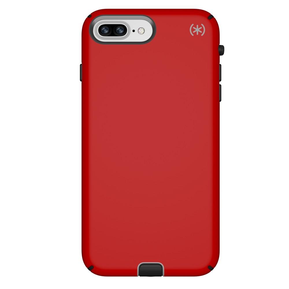 Speck Apple iPhone 8 Plus/7 Plus/6s Plus/6 Plus Case Presidio Sport - Red/Gray/Black