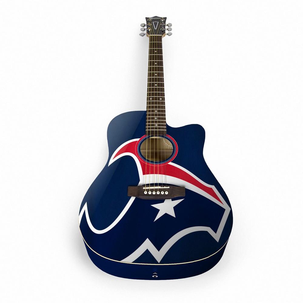 Houston Texans Mini Guitar