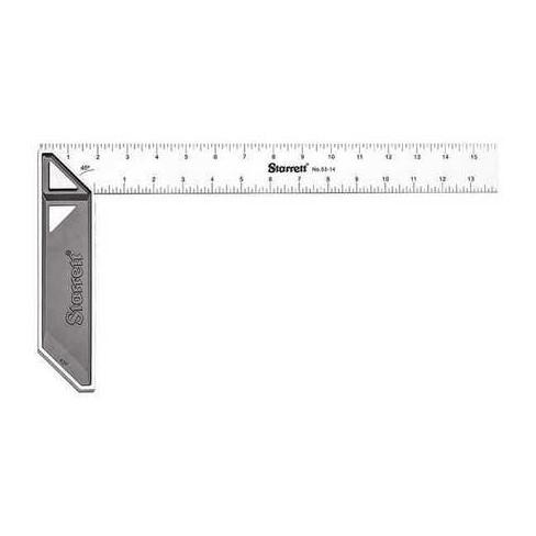"STARRETT K53-14-N Stainless Carpenters Try Square, 14"" - image 1 of 1"