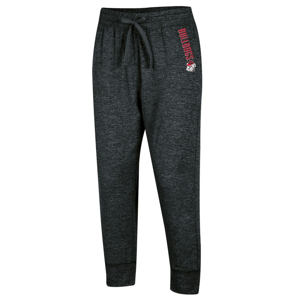 Georgia Bulldogs Women's Relaxed Fit Cropped Sweatpants S, Multicolored