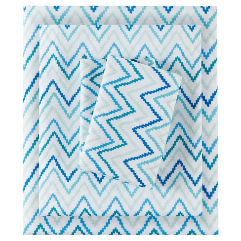 Double-Sided Chevron Printed Sheet Sets - image 1 of 5