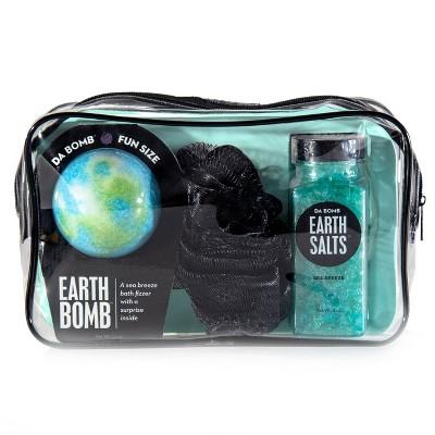 Da Bomb Bath Fizzers Earth Spa Gift Set - 3pc/12oz