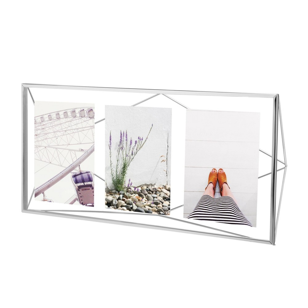 Image of 3p Prisma Photos Display Frame Chrome - Umbra