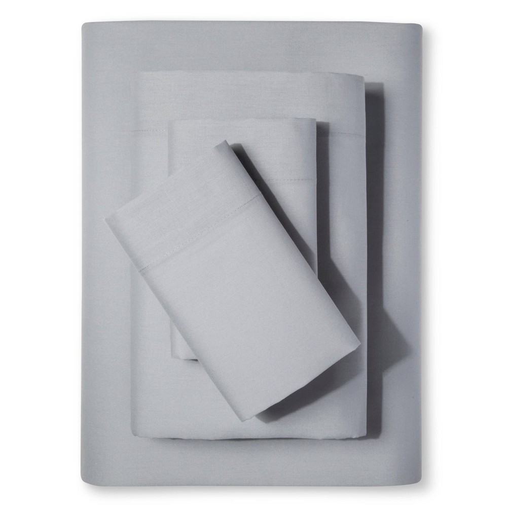 Easy Care Sheet Set Twin Gray Mist Room Essentials 8482