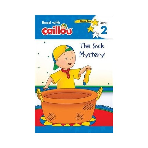 Caillou: The Sock Mystery - Read with Caillou, Level 2 - (Paperback) - image 1 of 1