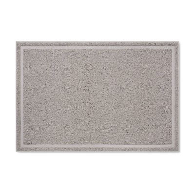 Drizzle Cat Litter Mat - Gray - L - up & up™