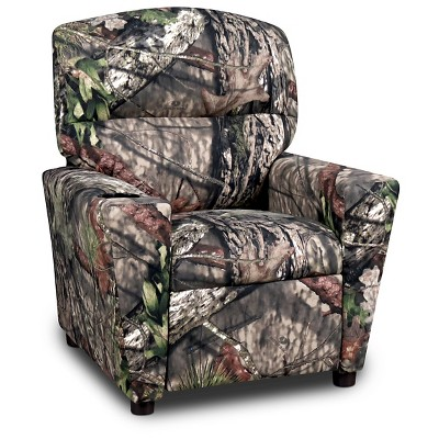 Kids Recliner With Cup Holder Mossy Oak Nativ Living Kangaroo