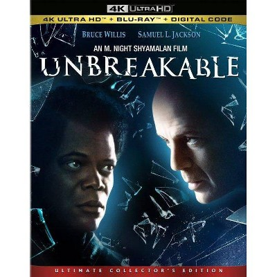 Unbreakable (4K/UHD + Blu-ray + Digital)