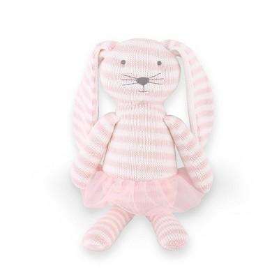 The Peanutshell Farmhouse Knit Plush Bunny